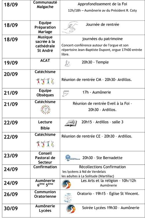 infos MERIGNAC SEPTEMBRE  2016 3