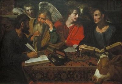 Les quatre Evangélistes de Artus Wolfaert